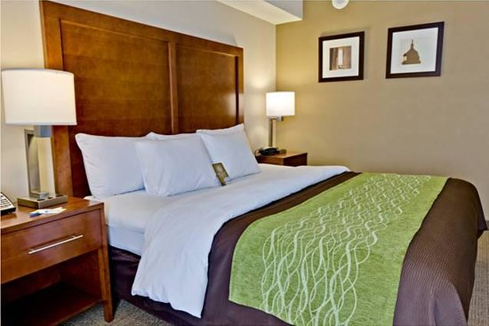 Comfort Inn: newly remodeled guest room