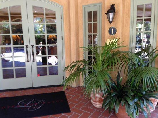 Hotel Los Gatos - A Greystone Hotel : Hotel Los Gatos Front Entry