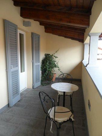 Hotel Rapallo: la terrasse de la chambre 405