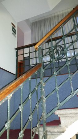 Universo Nord Hotel: Escadaria