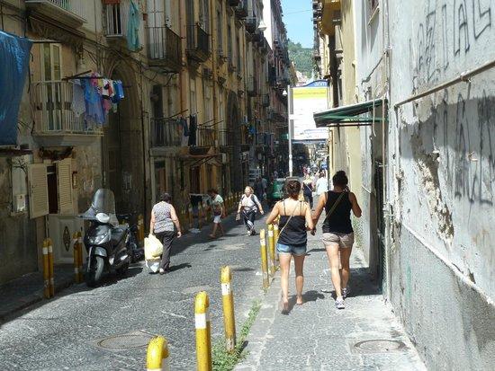 Residenza Pizzofalcone : Calle