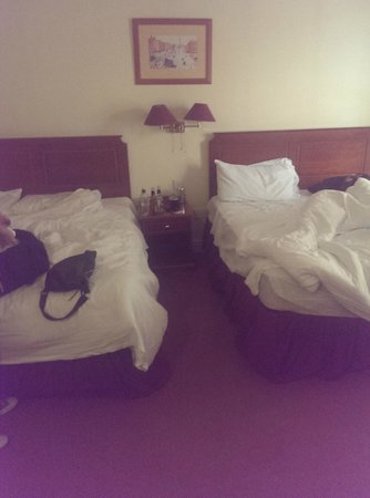 Maldron Hotel Pearse Street: 2 large double beds