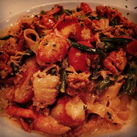 polenta with mushroom cream sauce - Picture of Il Granaio, Glen Mills ...