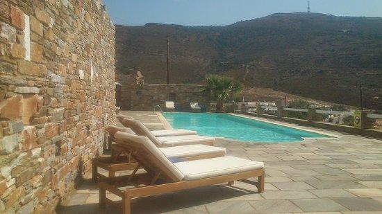Hotel Perrakis: Pool bar view, super!!!