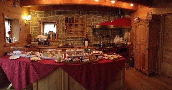 Chalet nel Doch: breakfast