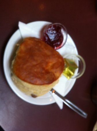 Yesterday's World: Scone with butter and jam delicious