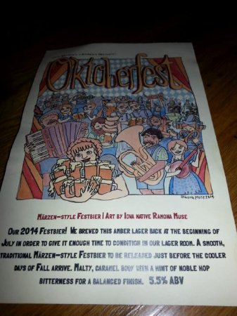 Exile Brewing Company: Octoberfest