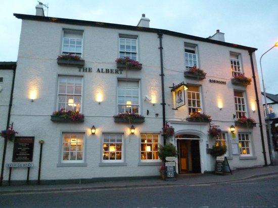 The Albert pub.