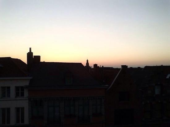 Auberge de Jeunesse de Tournai : vista dalla camera