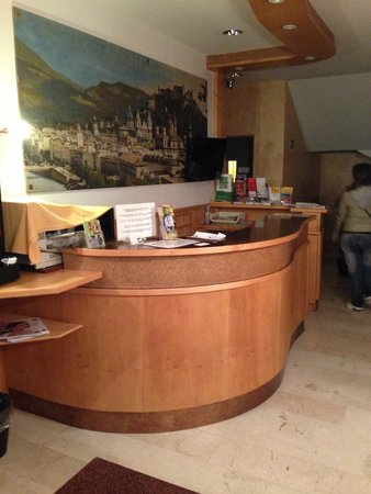 Hotel Drei Kreuz: reception