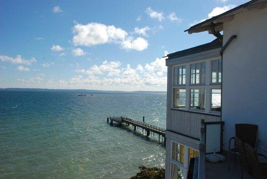 Strandhotel Sassnitz: Aussicht von der Terrasse