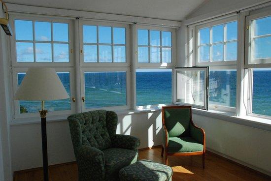 Strandhotel Sassnitz: Aussicht von der Veranda
