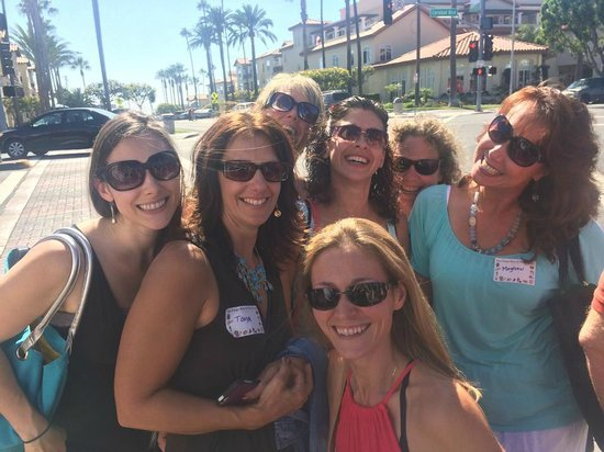 La Jolla Wine Tours San Diego Beer and Wine Tours: A bunch of jazzercise instructors walk into a winery...
