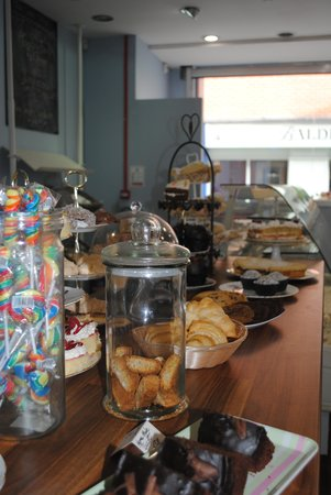 The Cake Shop Derry & Donegal: A counter full of treats