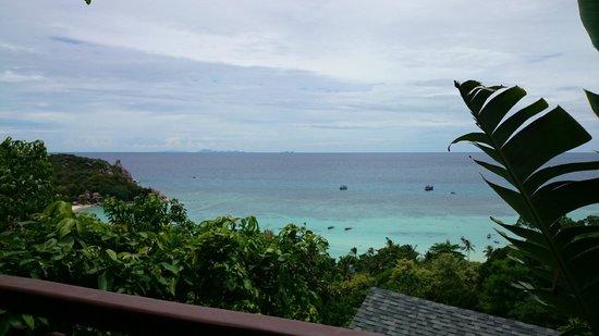 Chintakiri Resort: Aussicht vom Balkon, Zimmer 103