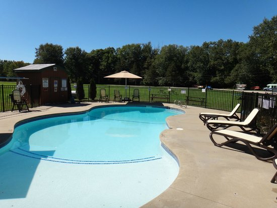 Saco River Camping Area: Pool