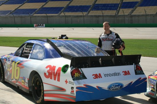Rusty Wallace Racing Experience: About to get ready for the experience of a lifetime.