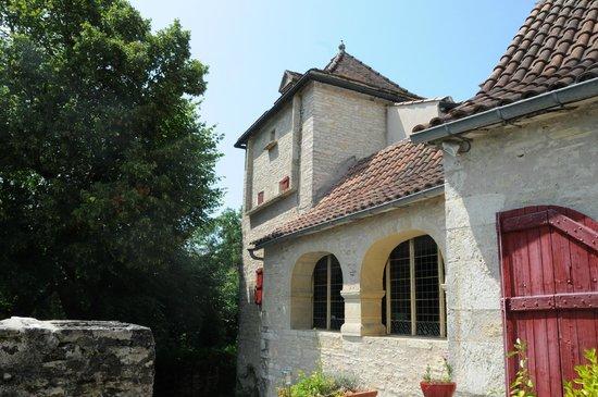 Chambres d'hotes Clos du Mas de Bastide : facade