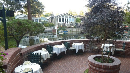 Shadowbrook Patio View Of The Brook