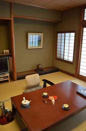 Mikuniya Ryokan : Room on arrival