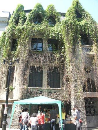 Barrio Lastarria: Fachada vegetal