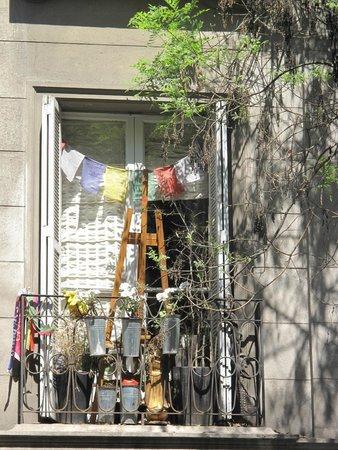 Barrio Lastarria: Una ventana bonita