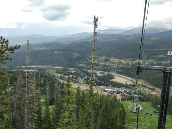 Winter Park Resort: view from scenic chairlift ride