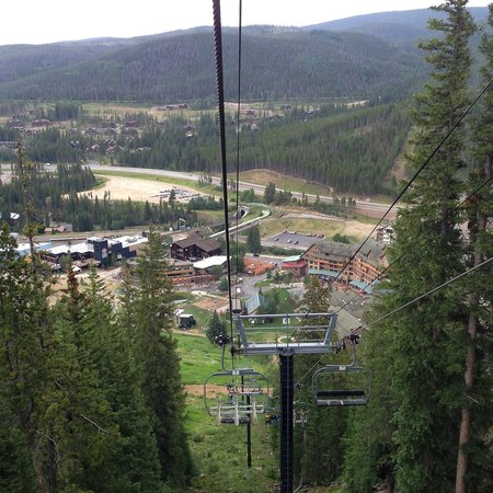 Winter Park Resort: View from scenic chair lift