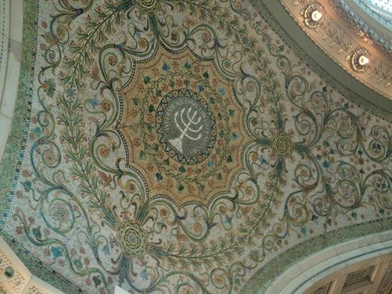 Chicago Cultural Center : Mosaic detail