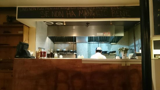 Taverna di Bacco: The Kitchen