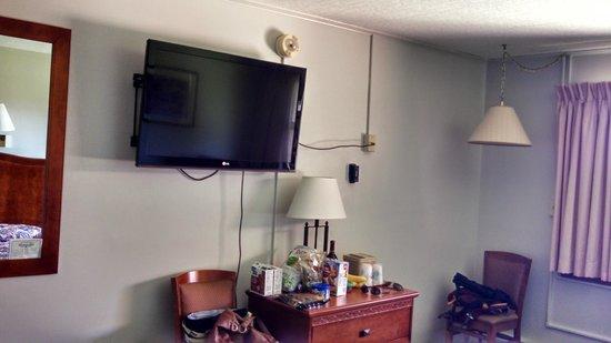 Blackwater Falls State Park Lodge: Lodge room (224)