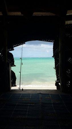 Joelan Beach Fales : Look what you wake up to.. beautiful!