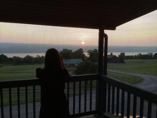 The Inn at Grist Iron: Cedar Heights Balcony