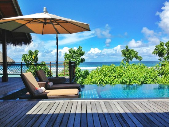 Shangri-La's Villingili Resort and Spa Maldives: A tree house villa: Beautiful paradise on earth.
