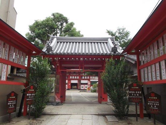 Aizindo Shomanin Shrine: 薬医門