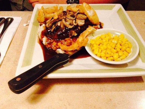 Ninety Nine Restaurant : Flat iron Steak, delicious!