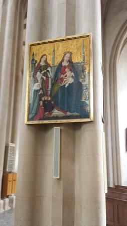 St. Jacob's Church (St. Jakobskirche): Madona and Child