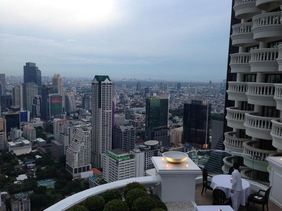 Tower Club at Lebua: vista do executive lounge