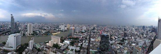 Tower Club at Lebua : vista do quarto