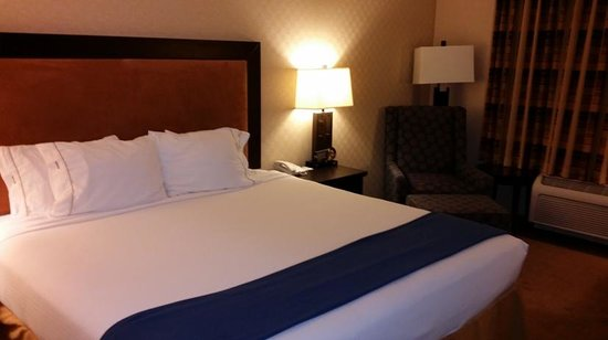 Holiday Inn Express Hotel & Suites Riverport: Room