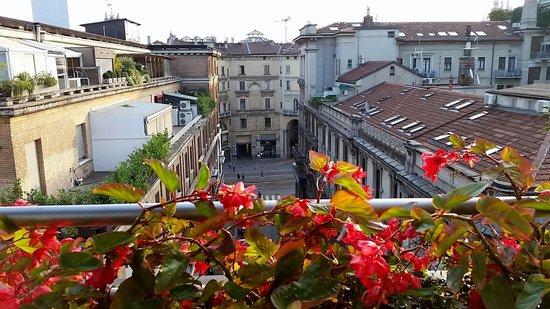 Hotel Spadari al Duomo: View from room 66