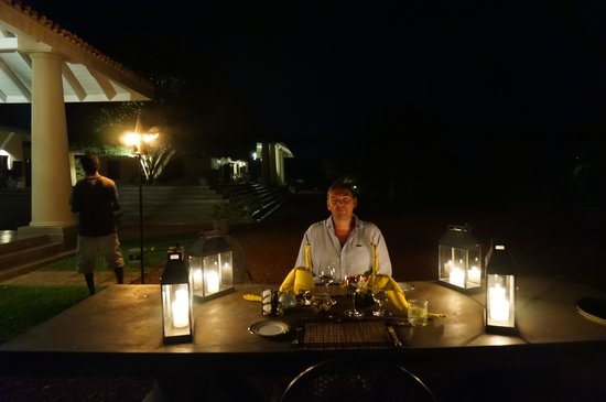 Villa Mayurana by Edwards Collection: Special dinner