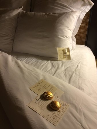Turn down service with chocolates, and pillow mist - Picture