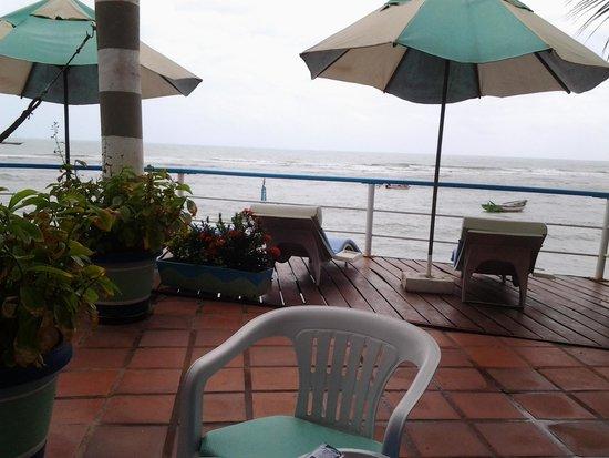 Pousada da Praia: el gran balcon