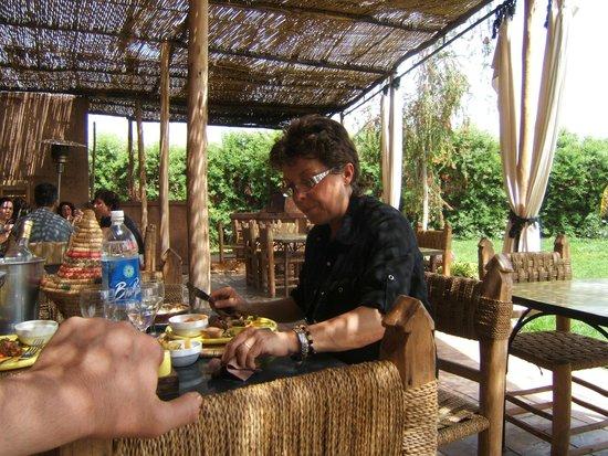 La Ferme Berbère: degustation d'un tajine