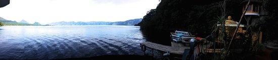 San Antonio Palopo, Guatemala: View of Lake Atitlan