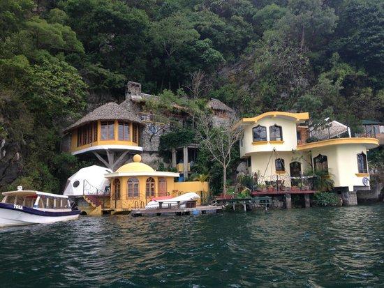 Kaalpul Atitlan Eco Hotel & Spa : TOSA La Laguna View from the Lake