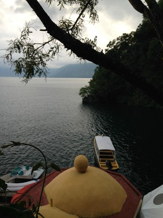 Kaalpul Atitlan Eco Hotel & Spa: View of Lake Atitlan from Tosa