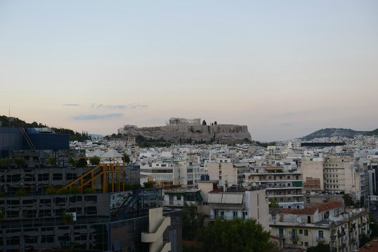 InterContinental Athenaeum: View from the room