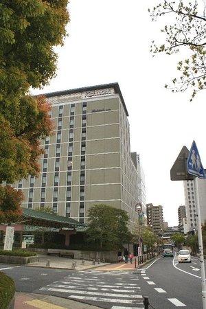 Richmond Hotel Narita: Hotel from street